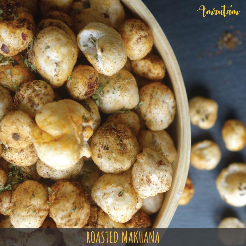 roasted makhanas