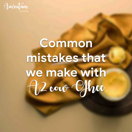 Common myths and misconceptions of ghee