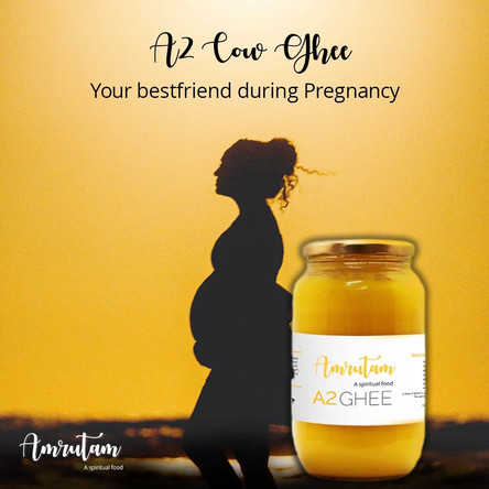 A2 Cow Ghee: your best friend during pregnancy