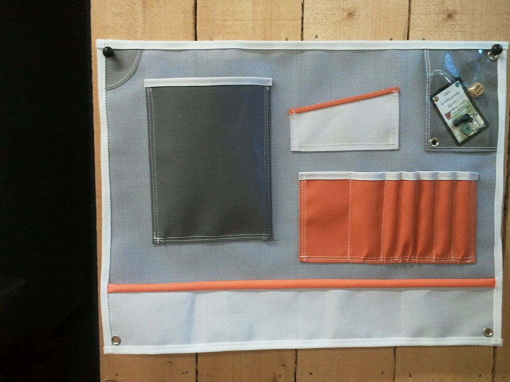 Rangement intérieur pour voilier
