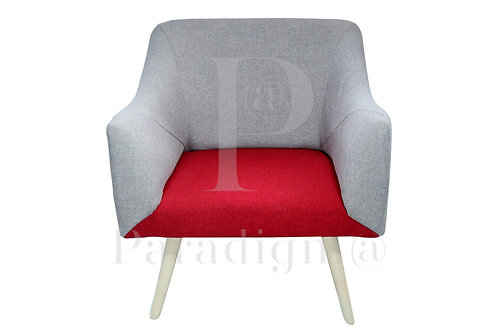 Small Sofa (Red Gray)