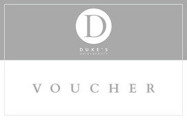 Vouchers available at Dukes hair and beauty salon