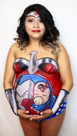 Wonder Woman Full Bodypaint