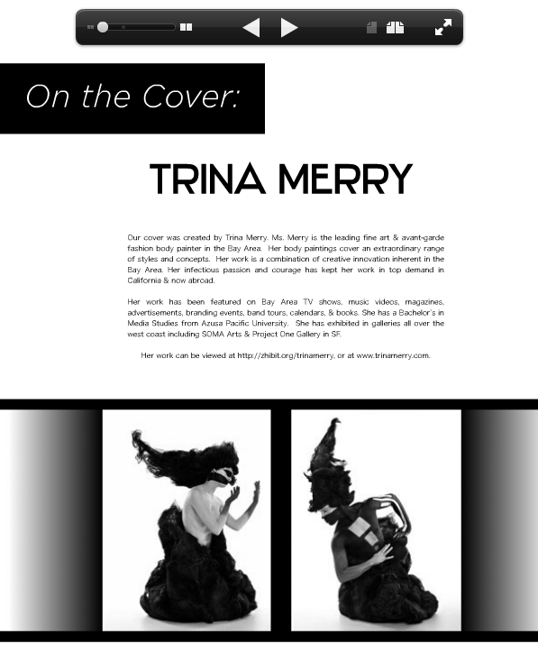 ATOM magazine tearsheet 2012