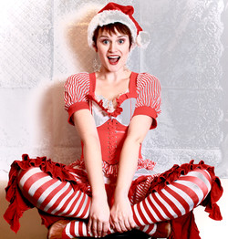 Candy-Cane Elf/Fairy
