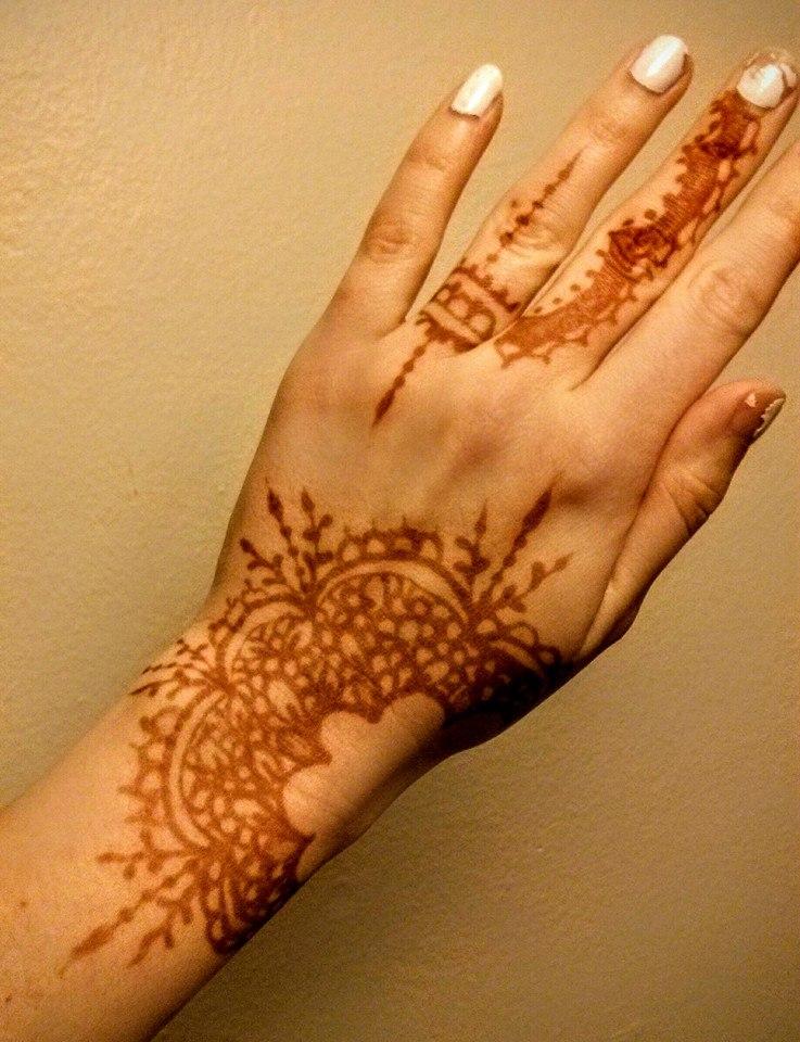 2 Days Old Henna