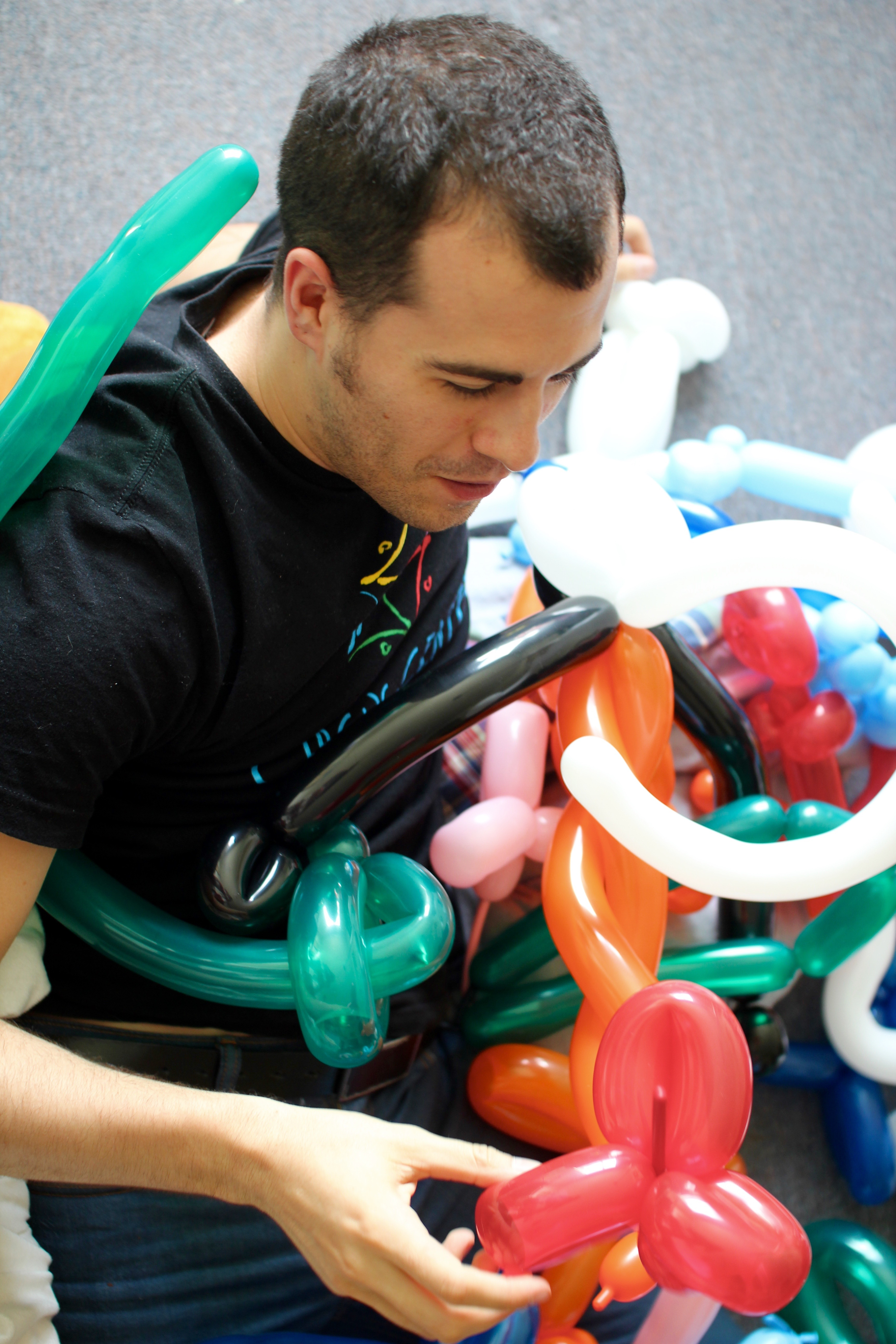 Mick, the Balloon-Artist