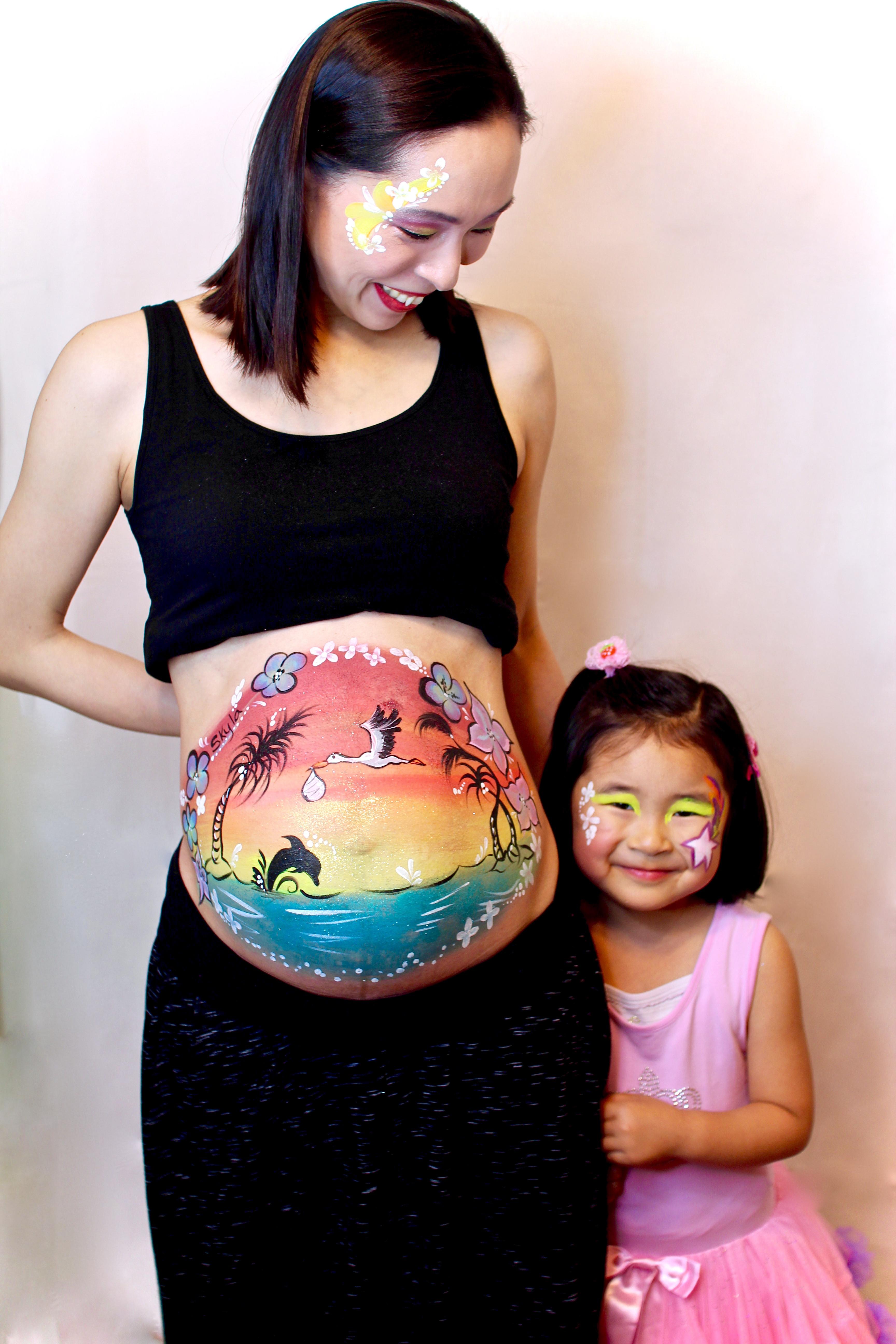 Maternity Belly Art