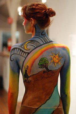 Bodypaint by Alana Dill