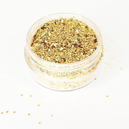 """Gold Rush"" Bio-Degradable Glitter"