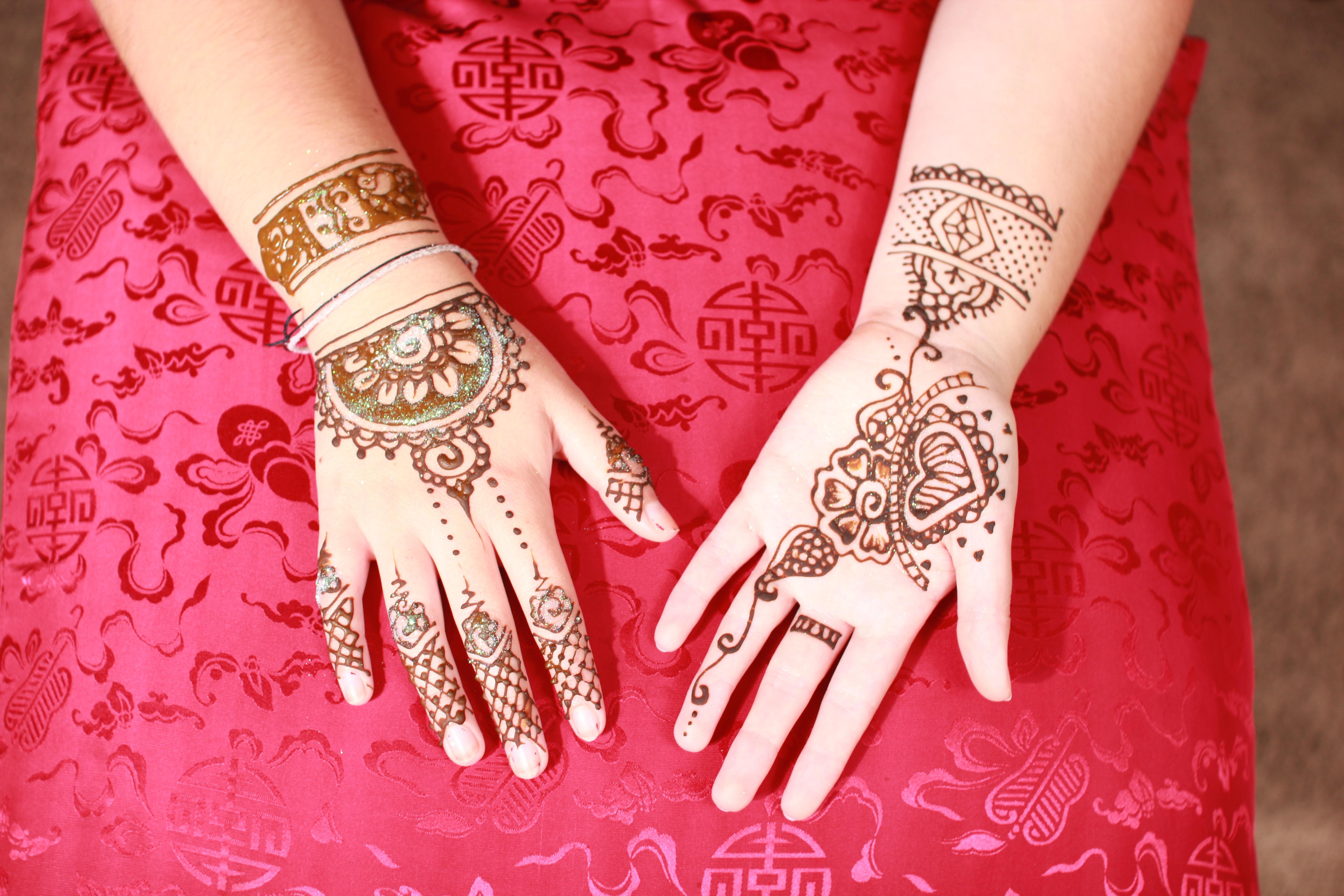 Package A Henna/Glitter