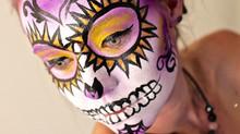 Happy Halloween & Dia De Los Muertos