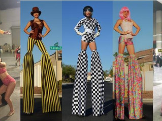 Welcome to Las Vegas Stilt Walkers!