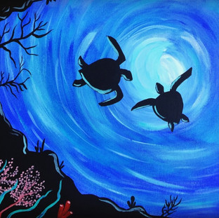 Turtle Town Painting