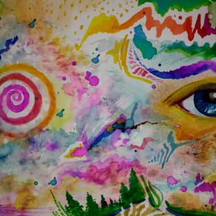 Abstract Watercolors