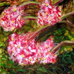 Plein-aire flowers