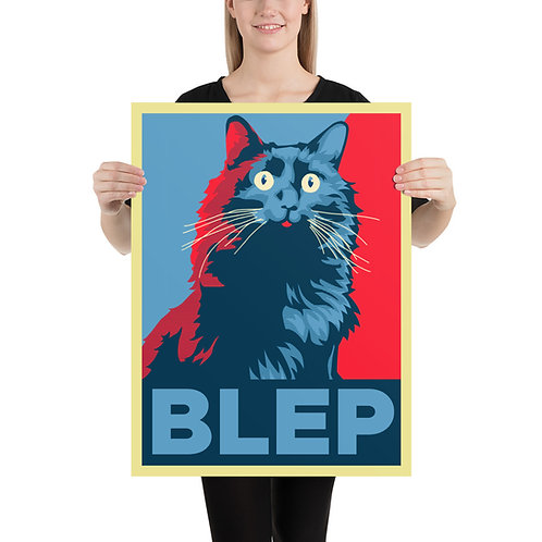 BLEP OwlKitty Poster