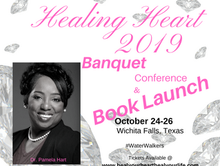Healing will be in the Room this week.Reach out and Grap it! Be sure to shopand grab your banquet