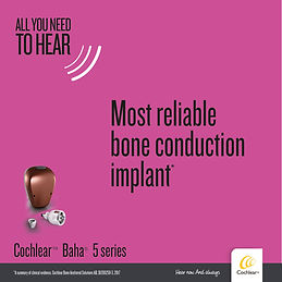 Cochlear Baha campaign