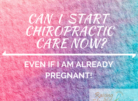 Can I start Chiropractic Care... Even though I am Pregnant?