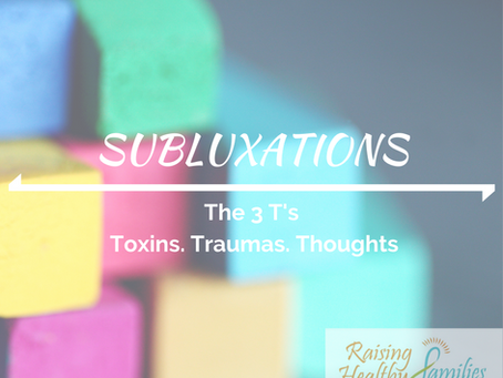 Subluxations Causes