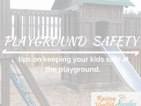 Playground Safety | Summer Safety Series