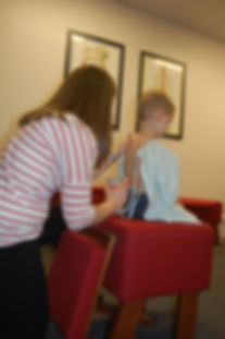 Child Chiropracti Adjutment utilizing Gonstead Technique | New Albany, Ohio