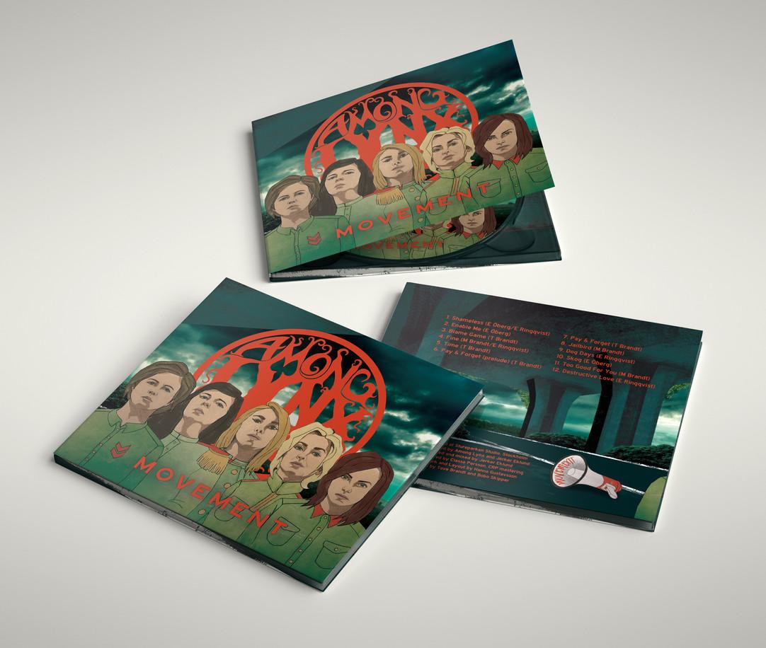 AMONG LYNX - CD BACK
