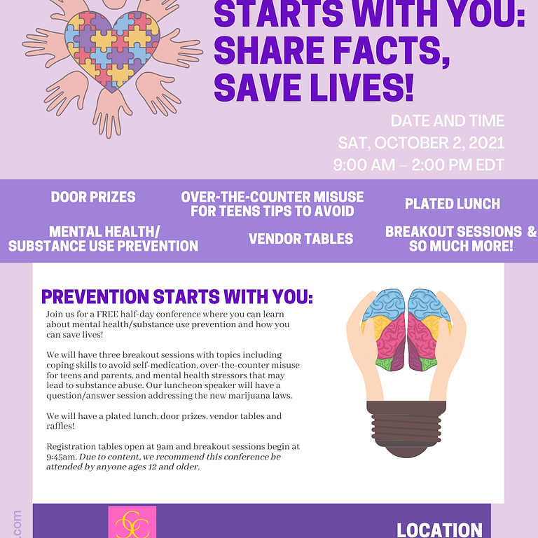 Prevention Starts with You: Share Facts, Save Lives!