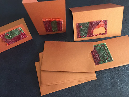 Gift Cards set of 4 with Envelope