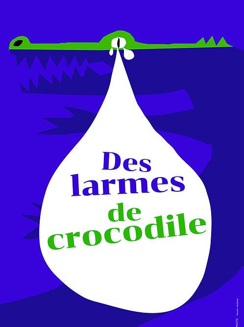 Des larmes de crocodiles