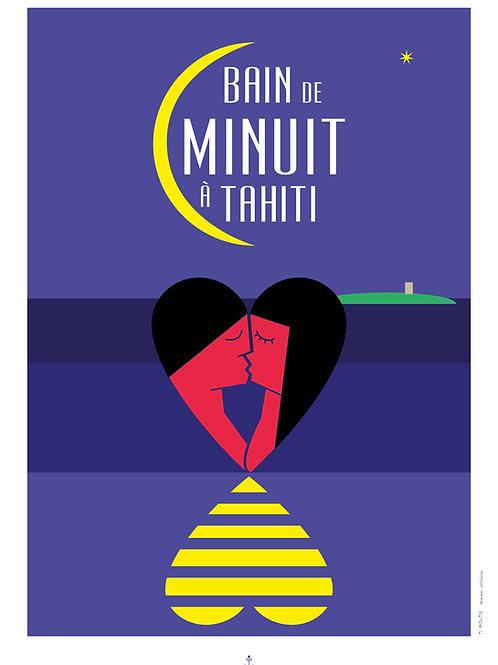 Bain de minuit à Tahiti