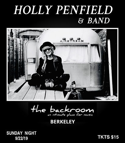 HOLLY PENFIELD - BACK ROOM BERKELEY 2019