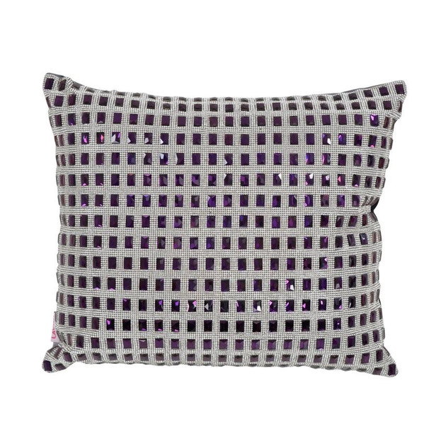 AMETHYSTS PILLOW PURPLE