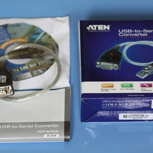 ATEN USB TO RS232 CONVERTER DRIVERS (2019)
