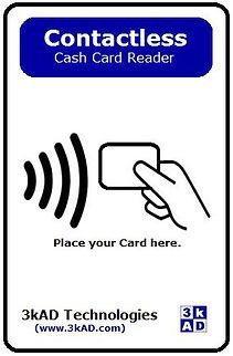 nets Cash card reader 3kad