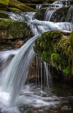 Parcours des cascades du Hérisson - Jura
