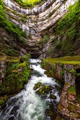 Source de la Loue - Doubs