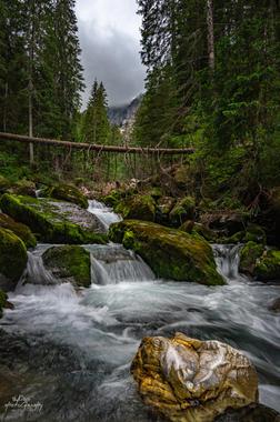 Amont de la cascade du Rouget - Sixt Fer à Cheval - Haute Savoie