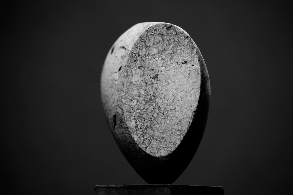 Ackerdenker, Nagelfluh, Höhe ca. 25 cm