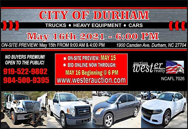 City of Durham Auction