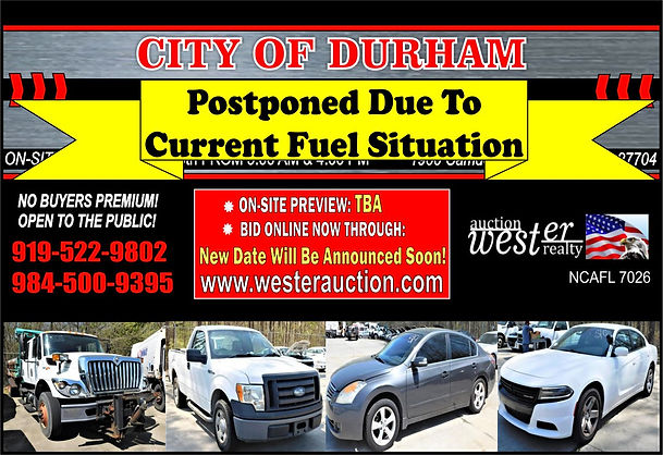 City of Durham Auction