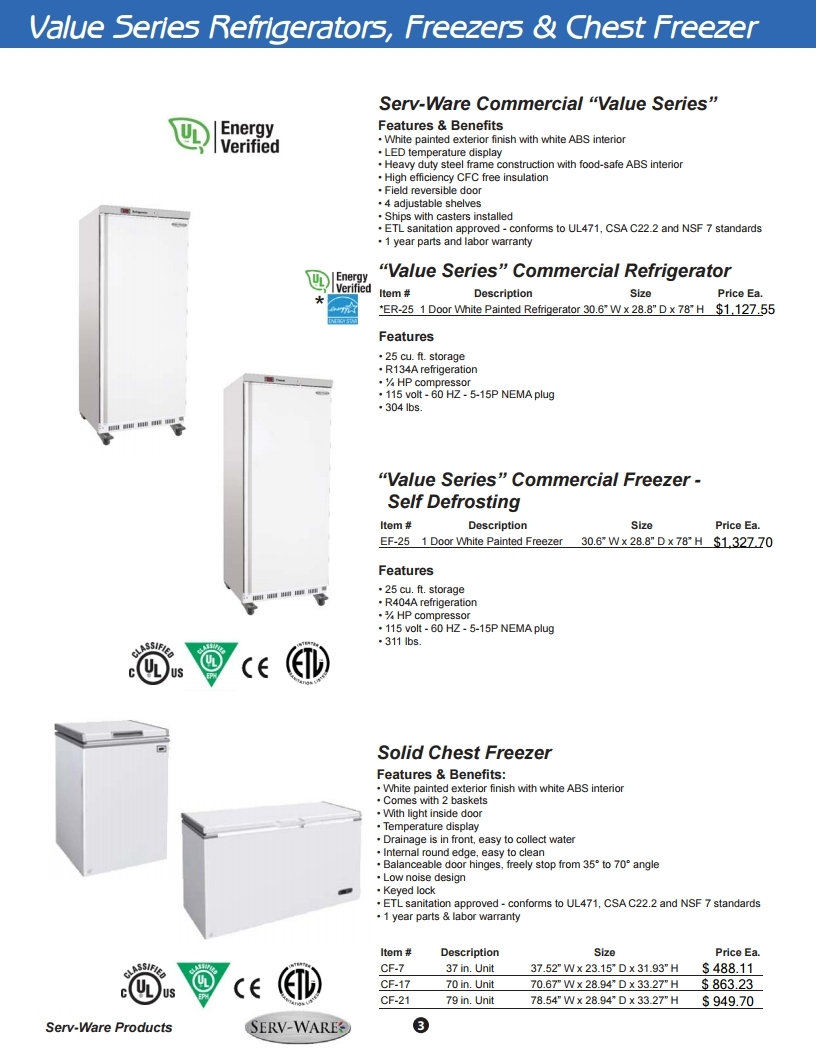Restaurant Equipment Refrigeration