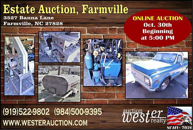Estate Auction NC
