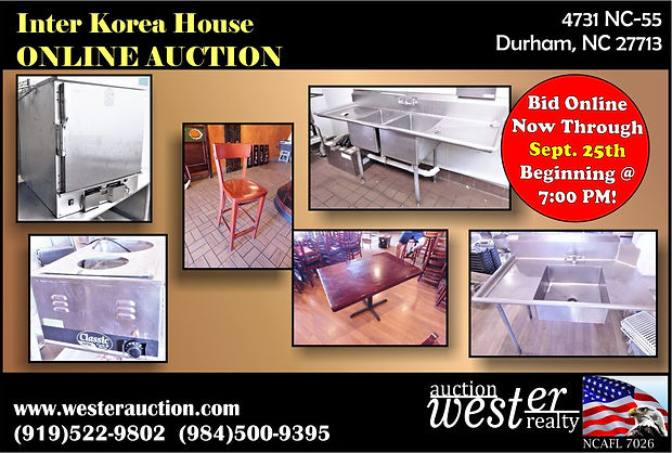 Inter Korea House Restaurant Equipment A