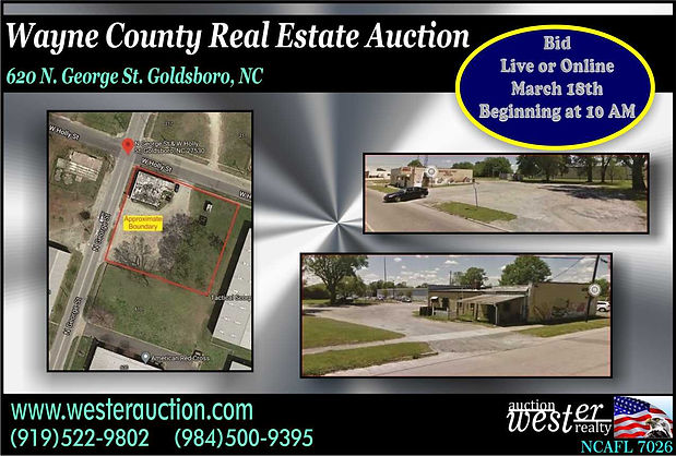 Real Estate Auction, NC