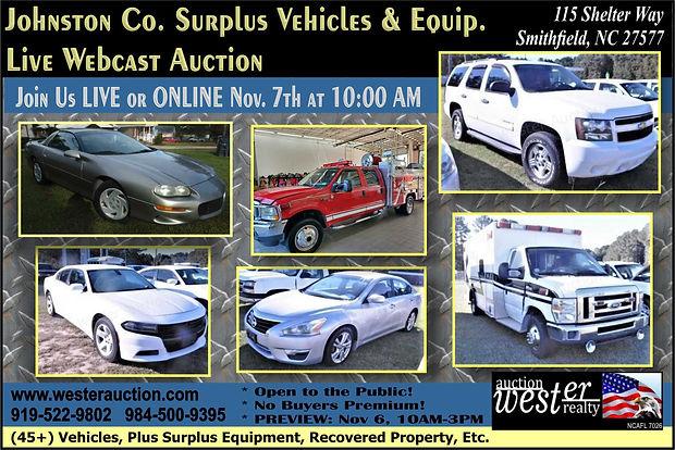 Johnston County Auto Auction
