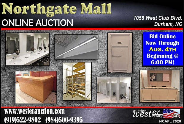 Northgate Mall Auction