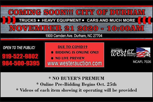 City of Durham Auto and Heavy Equipment