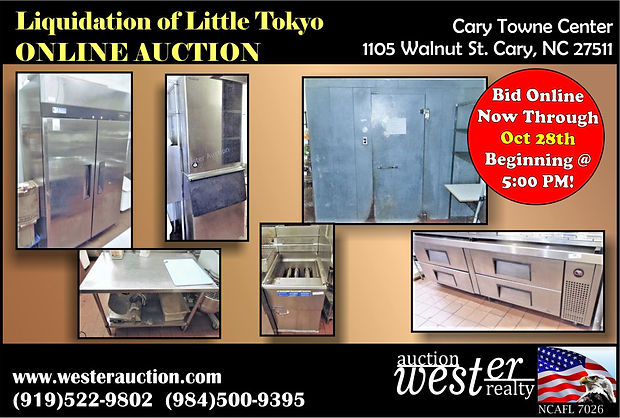 Little Tokyo Online Auction